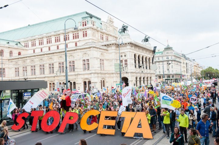 L'Allemagne se lève contre CETA, le traité de libre échange avec le Canada