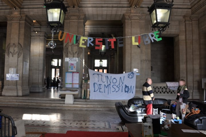Universités bloquées : la ministre dénonce une campagne de