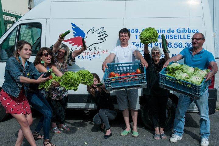 À Marseille, les quartiers nord ont aussi droit aux légumes bios