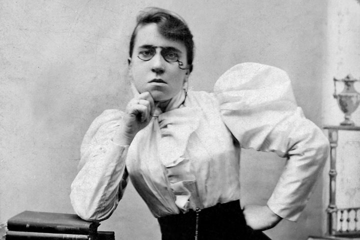 "Emma Goldman : l'anarchie, «<small class=""fine""> </small>un idéal d'émancipation<small class=""fine""> </small>»"
