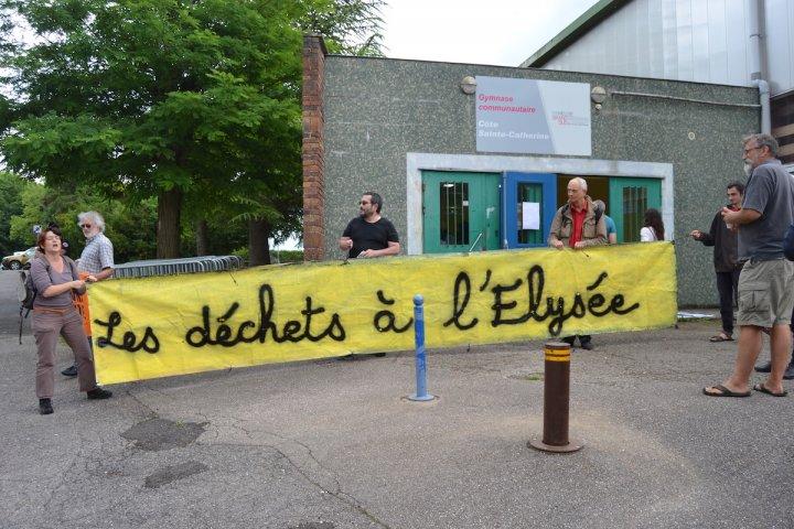 À Bar-le-Duc, le débat sur les déchets radioactifs vire au réquisitoire contre le centre de stockage Cigéo