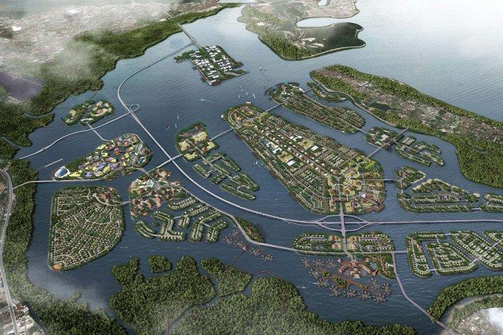À Bali, bronca contre un gigantesque projet d'îles artificielles