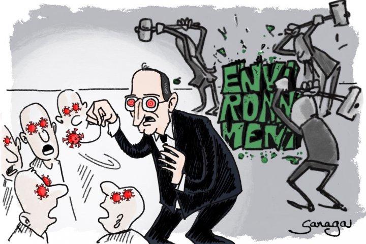 Le gouvernement démolit le droit de l'environnement
