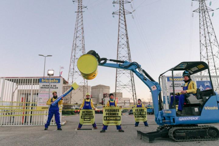 Action de Greenpeace à la centrale du Tricastin: la clémence inédite du tribunal