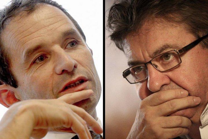 """Hamon et Mélenchon: leurs programmes Environnement sont d'accord à 90<small class=""""fine""""></small>%"""