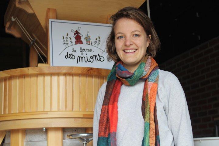 Dans le Nord, une jeune agricultrice produit des pâtes de la semence à l'assiette