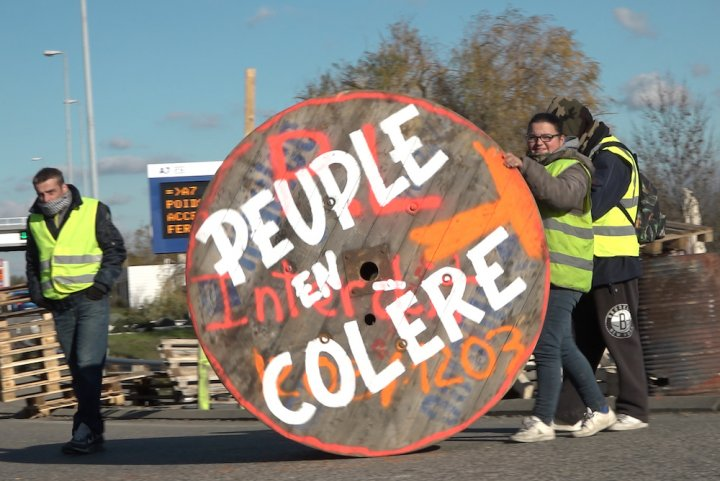 """Ruffin et Perret filment les Gilets jaunes: «<small class=""""fine""""></small>ils ont rouvert un imaginaire politique<small class=""""fine""""></small>»"""