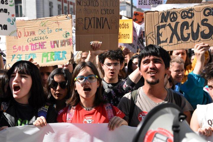 À Madrid, à Berlin, à Bruxelles des dizaines de milliers de manifestants pour le climat