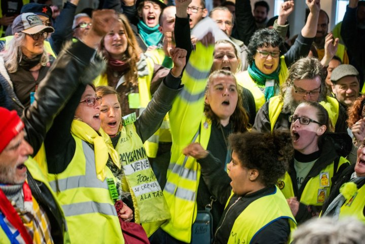 Gilets jaunes, écologistes: marchons ensemble le 21septembre