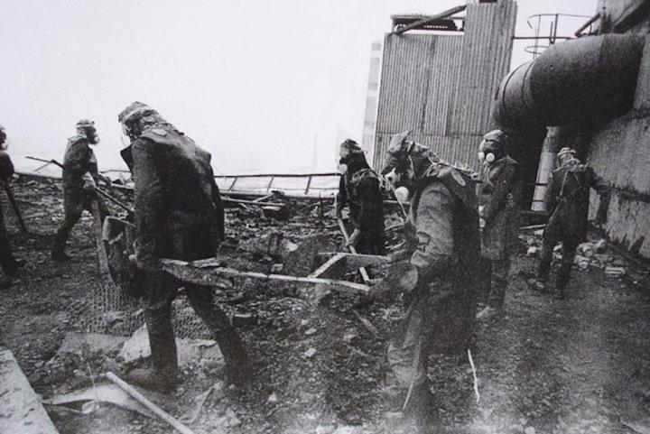 Tchernobyl Je Suis La Seule Survivante De Mon Equipe De Liquidateurs