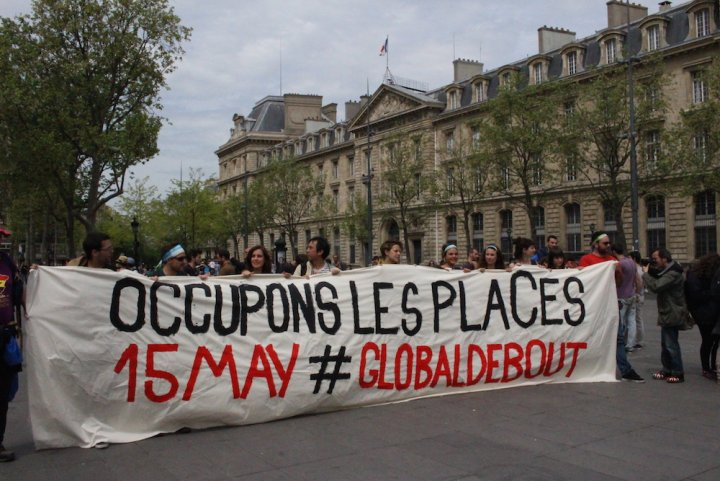 Nuit Debout passe à l'international