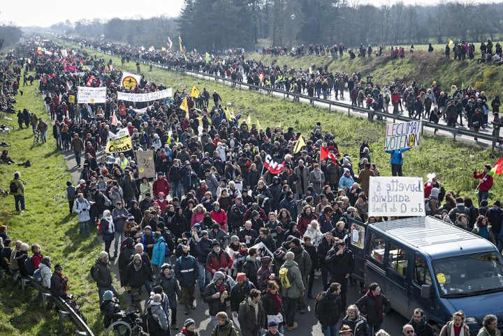 Notre-Dame-des-Landes: le pari des rebelles est gagné