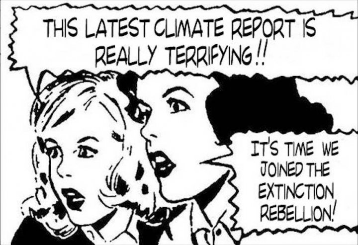 En Angleterre, le mouvement Extinction Rebellion lance l'insurrection pour le climat