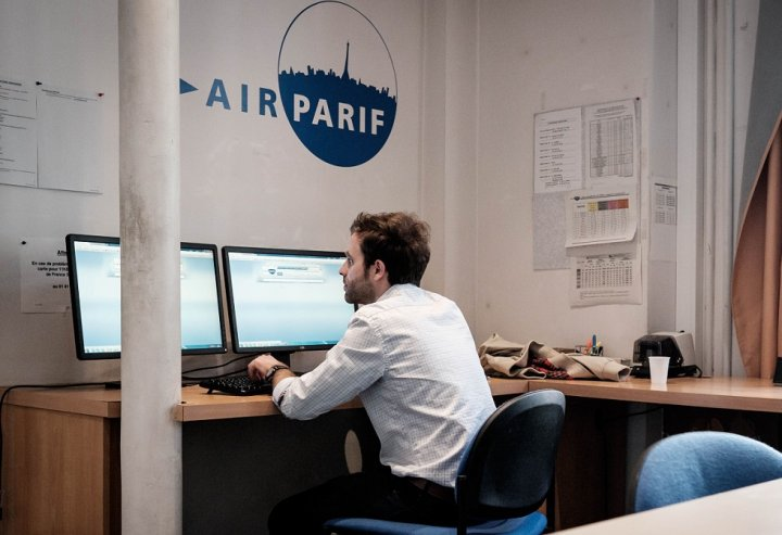 Pollution de l'air au maximum : découvrez en diaporama comment on la mesure