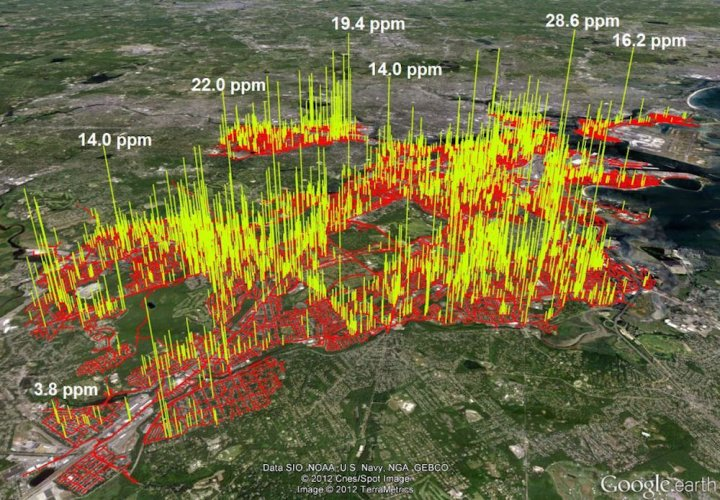 La hausse rapide du méthane alarme les climatologues